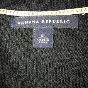 Banana Republic Sweaters - Banana Republic -XL -Black Sweater Top